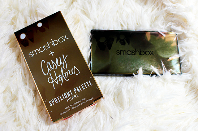 Smashbox X Casey Holmes Spotlight Palette Packaging || Southeast by Midwest #beauty #bbloggers #smashbox #smashboxXCaseyHolmes #caseyholmes