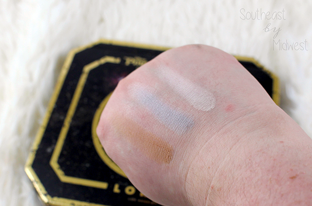 LORAC x Pirates of the Caribbean Eye Shadow Swatch 5 || Southeast by Midwest #beauty #bbloggers #lorac