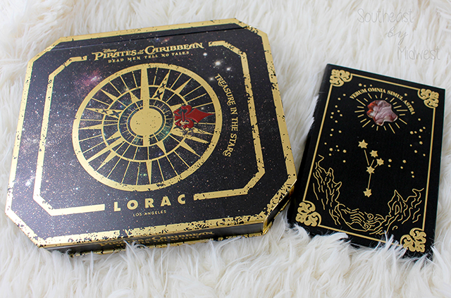 LORAC x Pirates of the Caribbean Inner Packaging || Southeast by Midwest #beauty #bbloggers #lorac