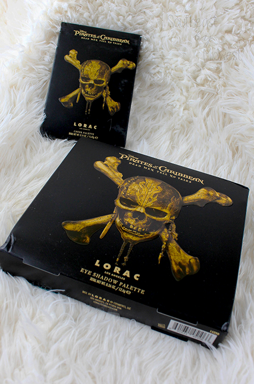 LORAC x Pirates of the Caribbean Outer Packaging || Southeast by Midwest #beauty #bbloggers #lorac