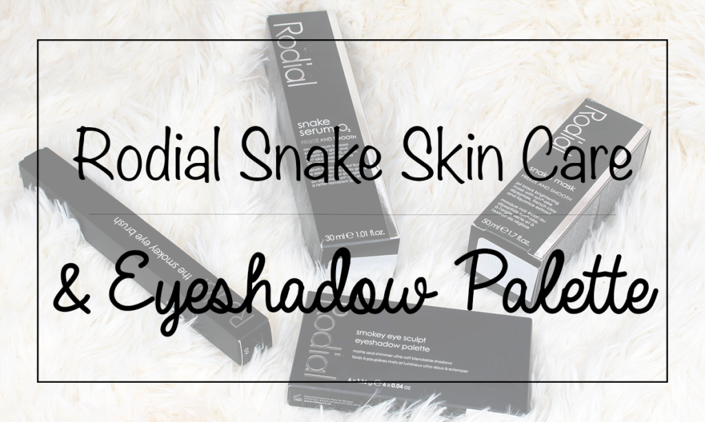 Rodial Snake Skin Care and Eyeshadow Palette