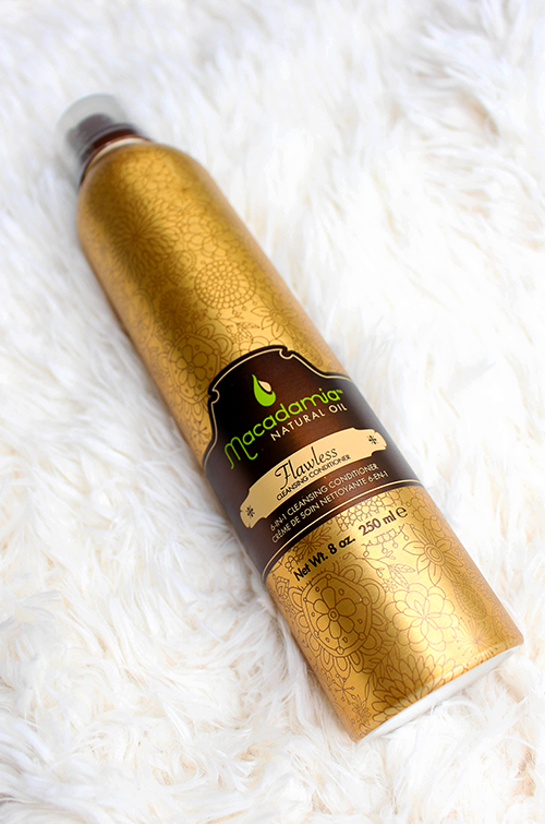 May Favorites Macadamia Flawless Cleansing Conditioner || Southeast by Midwest #favorites #bblogger #macadamia