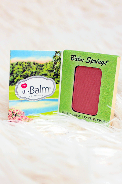 May and June Ipsy Bag Reveal TheBalm Balm Springs Blush || Southeast by Midwest #beauty #bblogger #beautyguru #ipsy