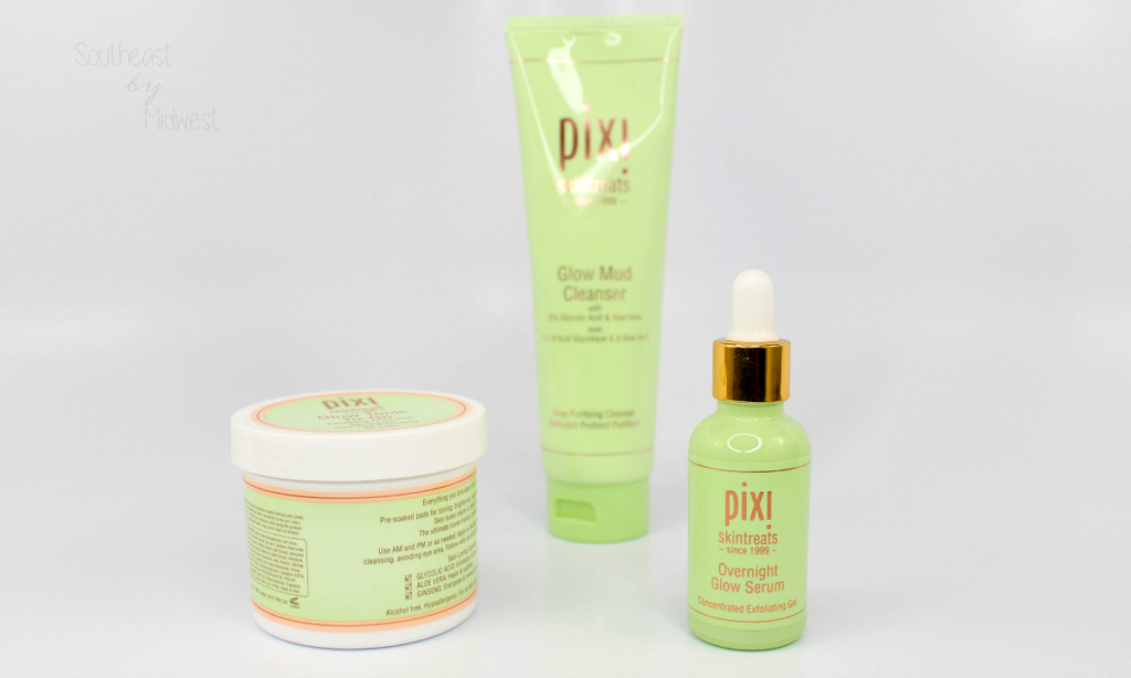 Pixi Glycolic Glow Products