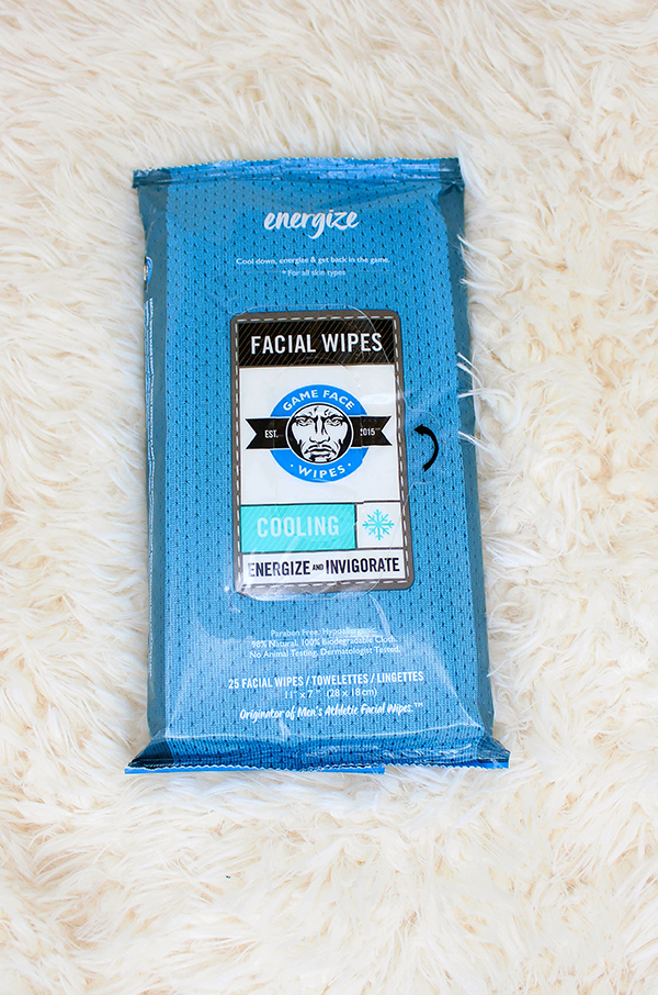 Game Face Cooling Face Wipes || Southeast by Midwest #beauty #bbloggers #beautyguru #GameFaceWipes