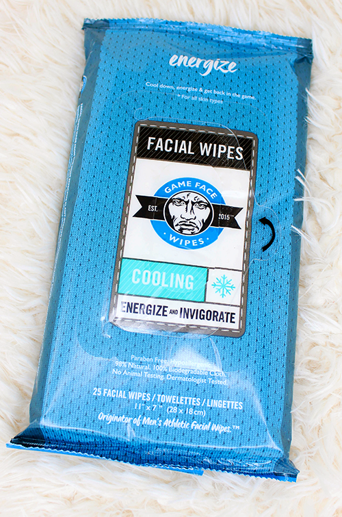Game Face Cooling Face Wipes Up Close || Southeast by Midwest #beauty #bbloggers #beautyguru #GameFaceWipes
