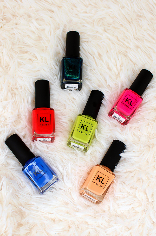 KL Polish Summer Collection || Southeast by Midwest #beauty #bbloggers #beautyguru #klpolished