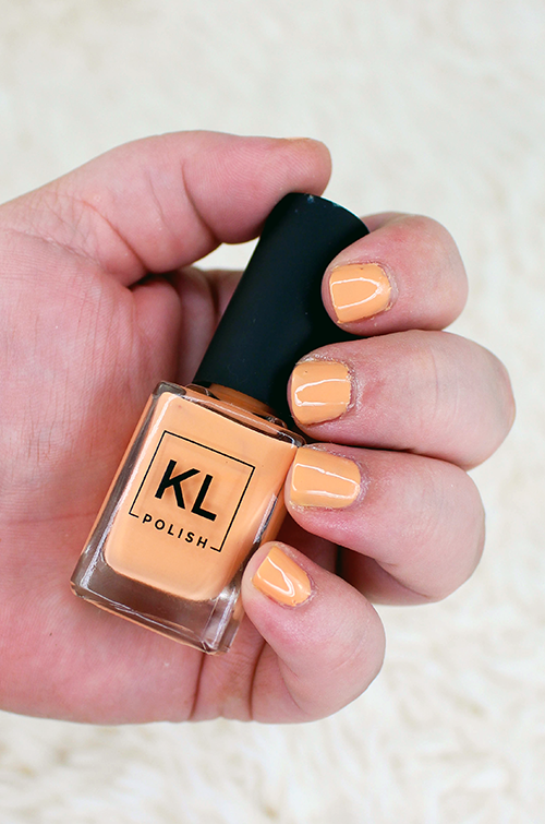 KL Polish Summer Collection South Peach || Southeast by Midwest #beauty #bbloggers #beautyguru #klpolished
