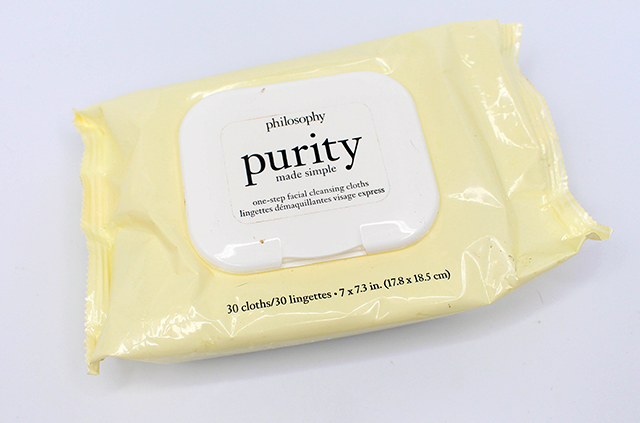 July Supers and Poopers Philosophy Purity Wipes || Southeast by Midwest #beauty #bbloggers #beautyguru #favorites