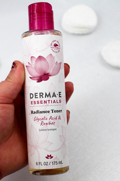 Derma E Essentials Radiance Toner Bottle || Southeast by Midwest #dermae #beauty #bbloggers #beautyguru #skincare