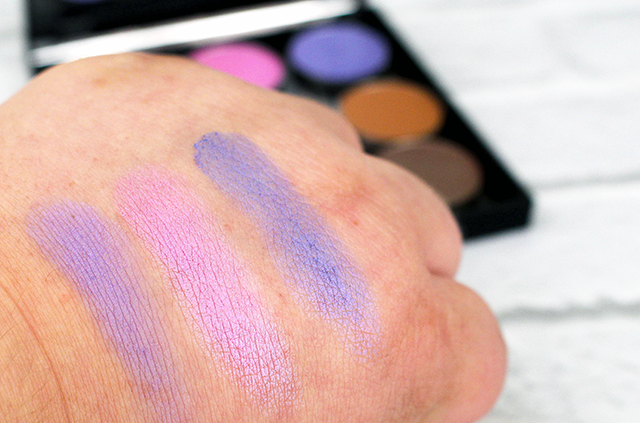 Makeup Geek Custom Palette Swatch 1 || Southeast by Midwest #makeupgeek #beauty #bbloggers #beautyguru