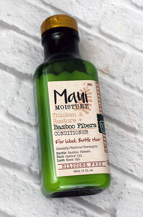Maui Moisture Thicken and Restore Hair Products Conditioner || Southeast by Midwest #beauty #bbloggers #mauimoisture