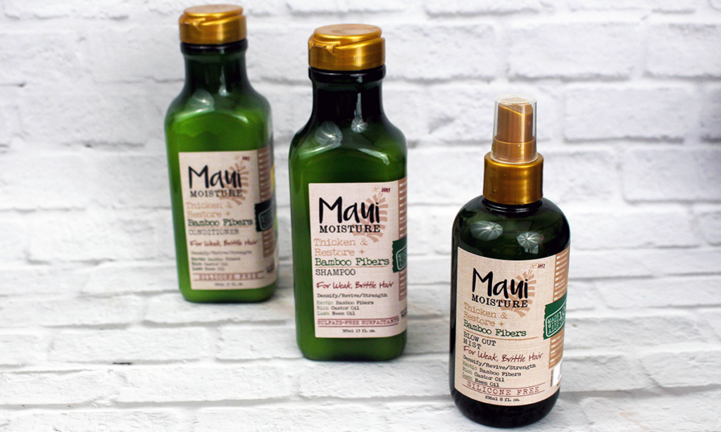 Maui Moisture Thicken and Restore Hair Products Featured Image || Southeast by Midwest #beauty #bbloggers #mauimoisture