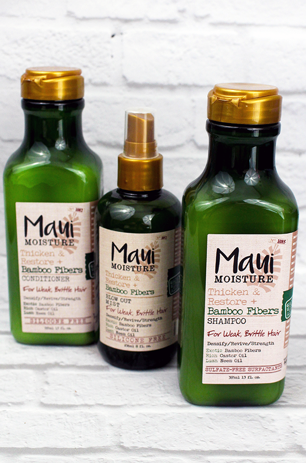 Maui Moisture Thicken and Restore Hair Products || Southeast by Midwest #beauty #bbloggers #mauimoisture