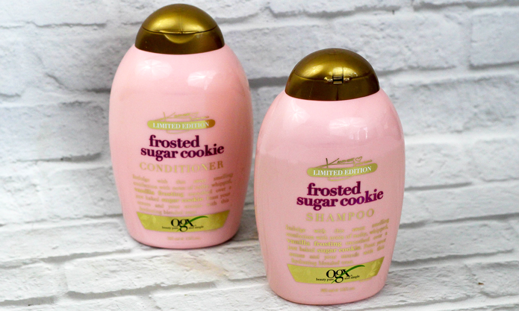 OGX Frosted Sugar Cookie Shampoo and Conditioner Review Featured Image || Southeast by Midwest #ogx #ogxbeauty #OGXxKandeeHoliday #beauty #bbloggers