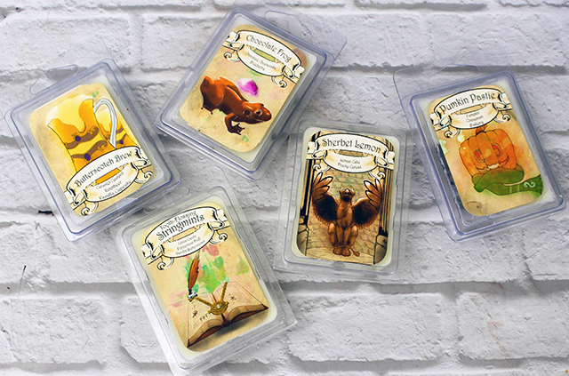 Zainey Laney Wax Melts Review Harry Potter || Southeast by Midwest #waxmelts #zaineylaney #zaineylaneywaxmelts