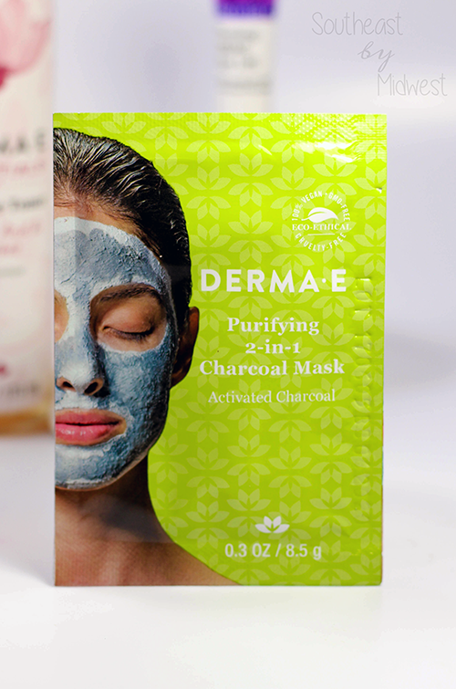 Derma E Face Masks Review Purifying 2-in-1 Charcoal Mask || Southeast by Midwest #dermae #dermaesocial #beauty #bbloggers #beautyguru #skincare