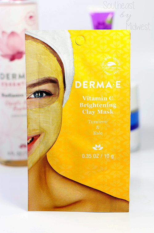 Derma E Face Masks Review Vitamin C Brightening Clay Mask || Southeast by Midwest #dermae #dermaesocial #beauty #bbloggers #beautyguru #skincare