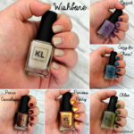 KL Polish 70's Vibes Collection Swatches || Southeast by Midwest #beauty #bbloggers #beautyguru #klpolished #klpolish