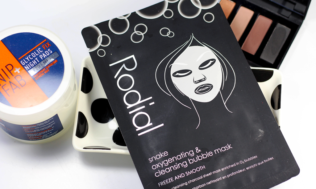 Rodial Snake Oxygenating Bubble Mask and Nip + Fab Glycolic Pads Featured Image || Southeast by Midwest #rodial #nipandfab #beauty #bbloggers #beautyguru #skincare #prsample
