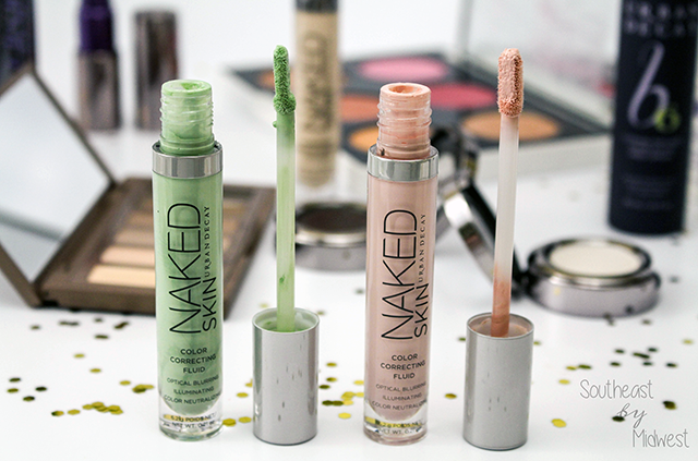 Urban Decay Naked Skin Color Corrector Review Wands || Southeast by Midwest #beauty #bbloggers #beautyguru #urbandecay