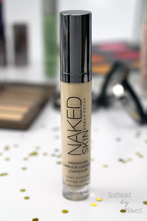 Urban Decay Naked Skin Concealer Up Close || Southeast by Midwest #beauty #bbloggers #beautyguru #urbandecay