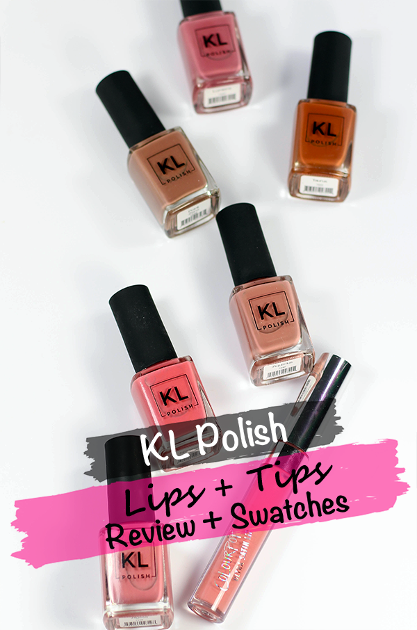 KL Polish Lips and Tips Collection || Southeast by Midwest #beauty #bbloggers #beautguru #manimonday #klpolish #klpolished