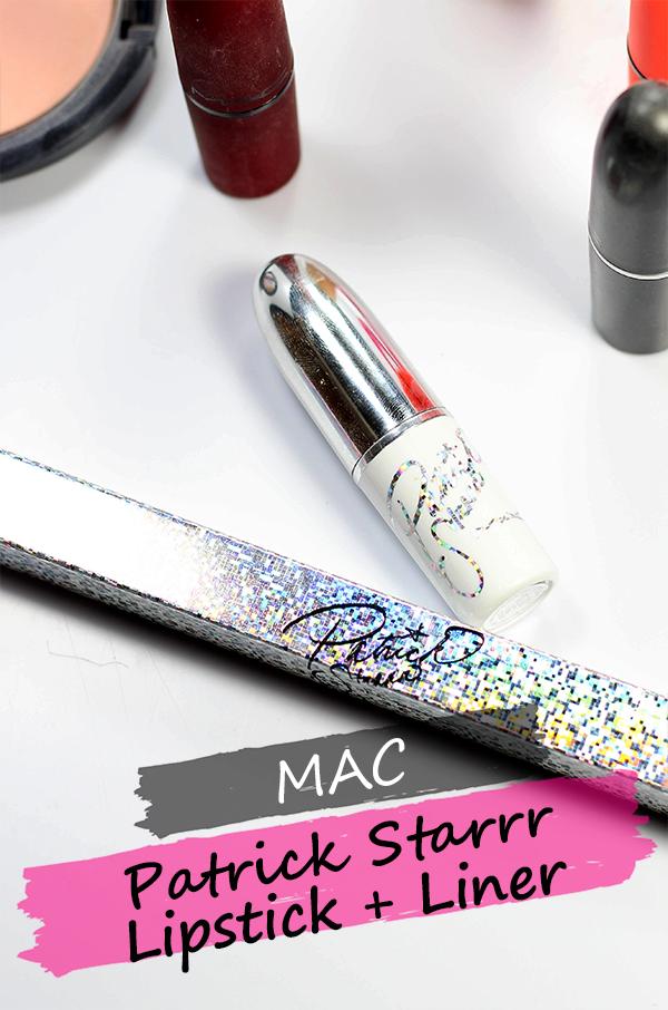 MAC x Patrick Starrr Patrick Woo Lipstick and Liner || Southeast by Midwest #beauty #bbloggers #beautyguru #macpatrickstarrr