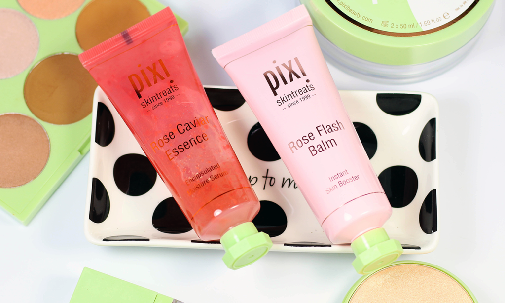 Pixi Rose Caviar Essence and Pixi Rose Flash Balm Review