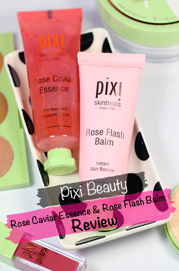 Pixi Rose Caviar Essence and Rose Flash Balm Review || Southeast by Midwest #beauty #bbloggers #beautyguru #skincare #pixi #pixibeauty