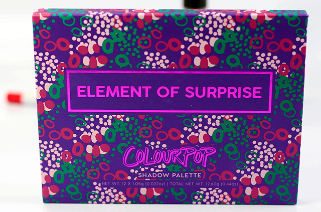 ColourPop Element of Surprise Palette Review Front of Palette || Southeast by Midwest #beauty #bbloggers #beautyguru #colourpop #ColourPopMe