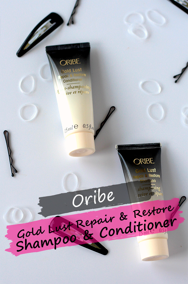 Oribe Gold Lust Repair & Restore Shampoo and Conditioner || Southeast by Midwest #beauty #bbloggers #hair #haircare #oribe #oribeobsessed