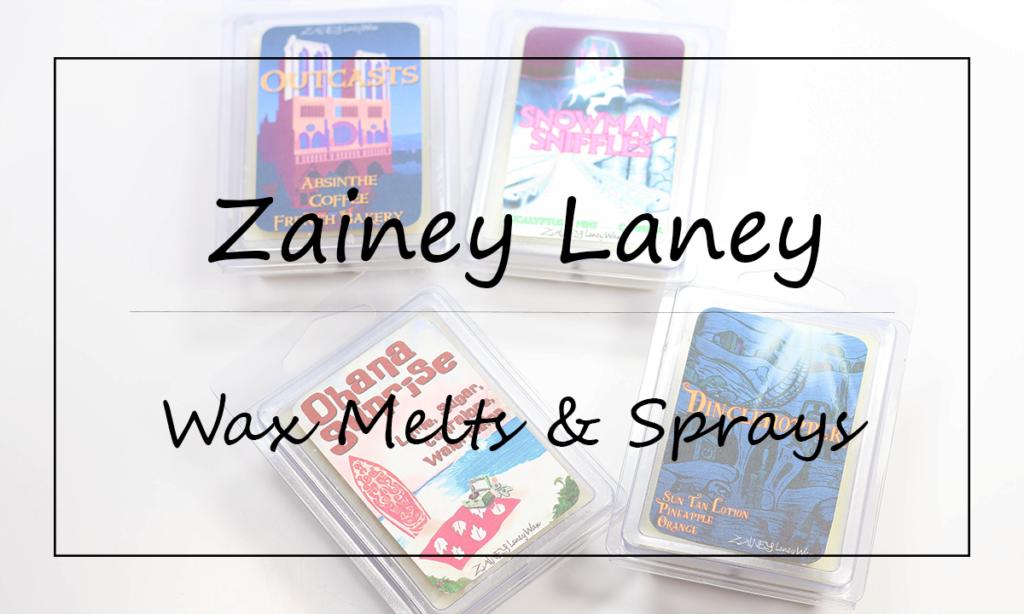 Zainey Laney Body Sprays and Wax Melts