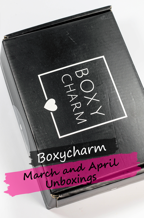 March and April Boxycharm Unboxings || Southeast by Midwest #beauty #bbloggers #boxycharm #subscriptionbox