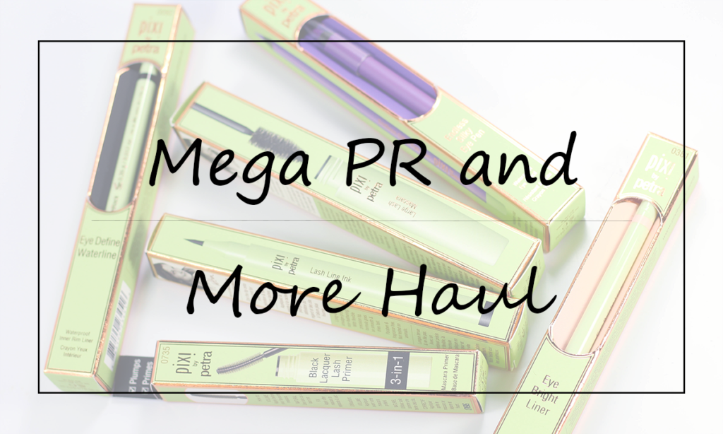 Mega PR and More Haul Featured Image || Southeast by Midwest #beauty #bbloggers #beautyhaul #prhaul #prsample