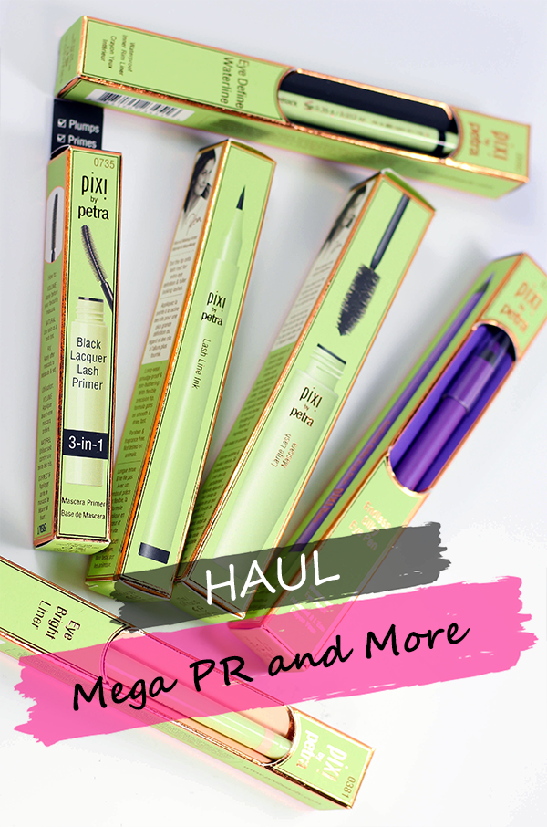 Mega PR and More Haul || Southeast by Midwest #beauty #bbloggers #beautyhaul #prhaul #prsample