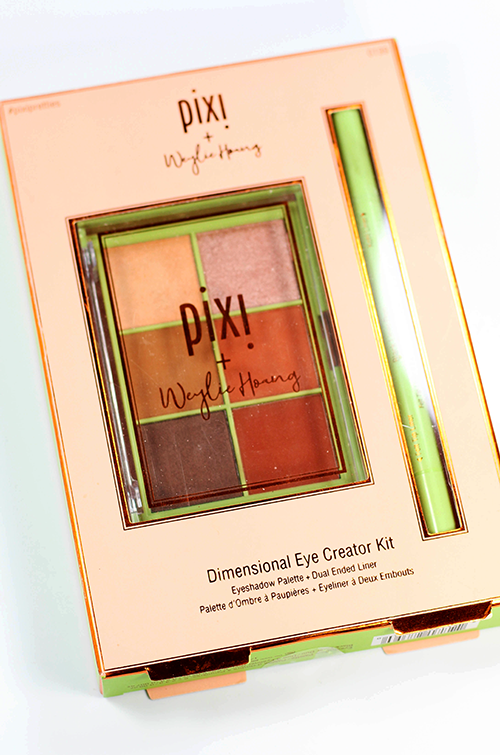 Pixi Dimensional Eye Creator Kit Review and Swatches About || Southeast by Midwest #beauty #bbloggers #beautyguru #pixibeauty #pixixweylie