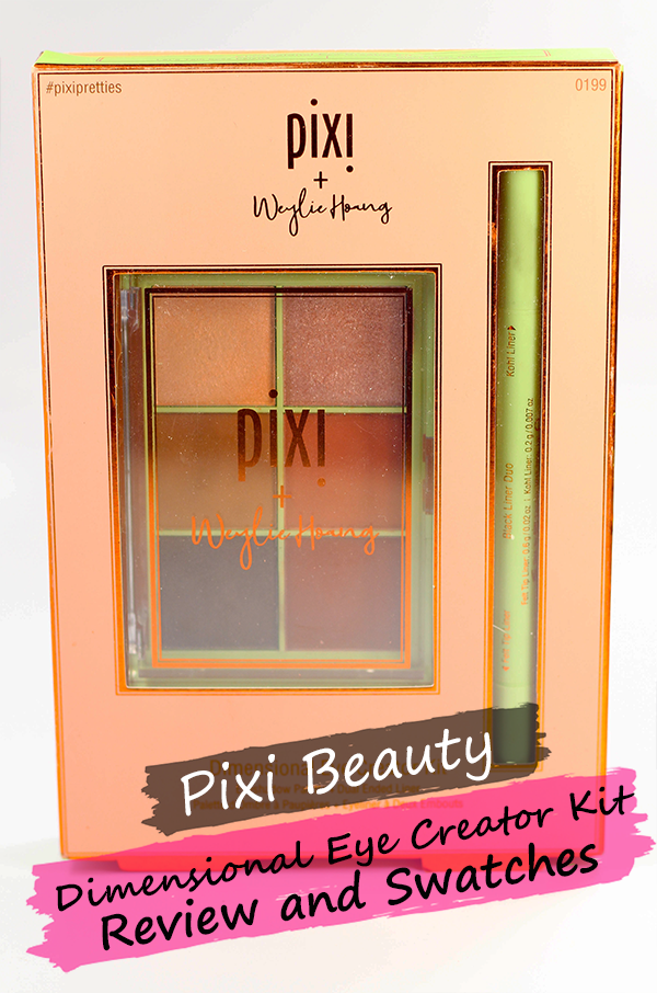 Pixi Dimensional Eye Creator Kit Review and Swatches || Southeast by Midwest #beauty #bbloggers #beautyguru #pixibeauty #pixixweylie