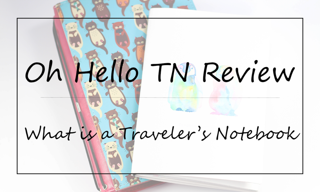 What is a Traveler's Notebook? Featured Image || Southeast by Midwest #travelersnotebook #ohhelloTN #ohhellostationery #planner
