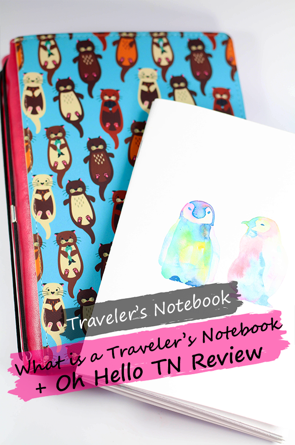 What is a Traveler's Notebook? || Southeast by Midwest #travelersnotebook #ohhelloTN #ohhellostationery #planner