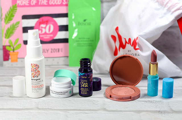 July 2018 Sephora Play Unboxing Products Opened || Southeast by Midwest #SephoraPlay #beautysubscriptionbox #beauty #bbloggers