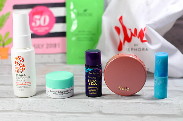 July 2018 Sephora Play Unboxing Products || Southeast by Midwest #SephoraPlay #beautysubscriptionbox #beauty #bbloggers