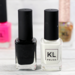 KL Polish Black and White Nail Polish Review Bottles || Southeast by Midwest #klpolished #manimonday #beauty #bbloggers