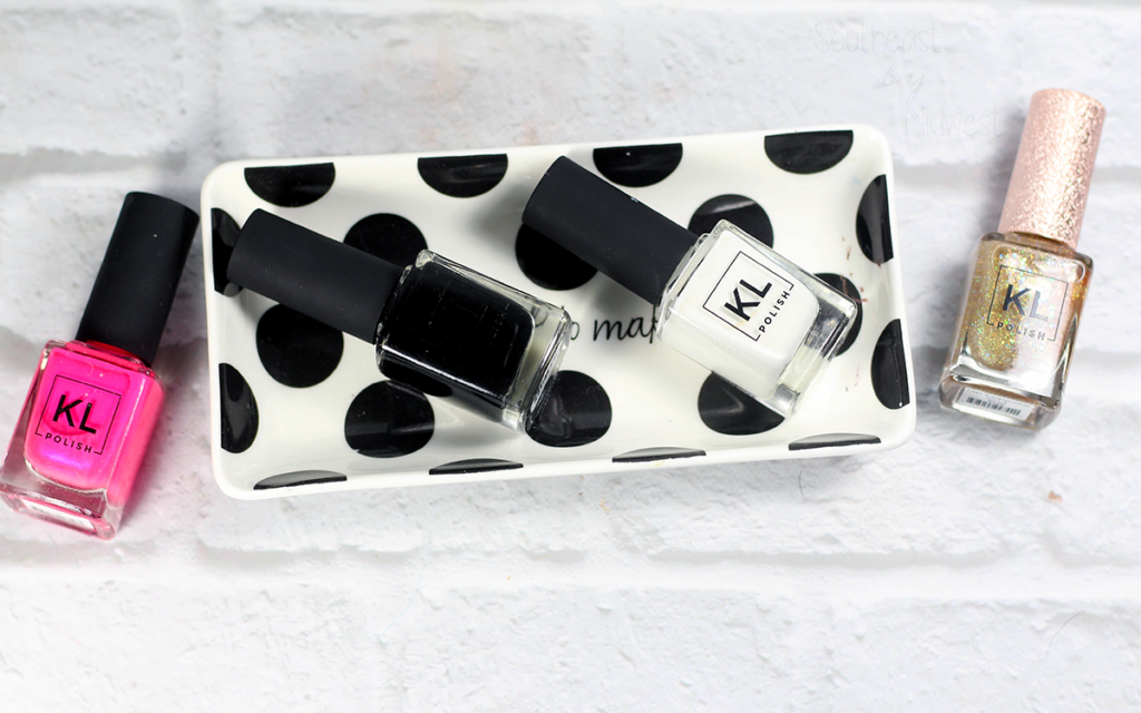 KL Polish Black and White Nail Polish Review Featured Image || Southeast by Midwest #klpolished #manimonday #beauty #bbloggers