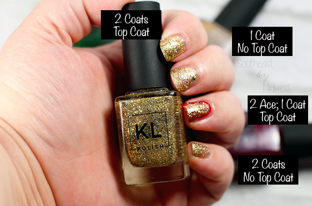 KL Polish Winter Glamourland Collection Review and Swatches Casino Night || Southeast by Midwest #klpolished #klpolished #manimonday #beauty #bblogger #bbloggers #beautyguru