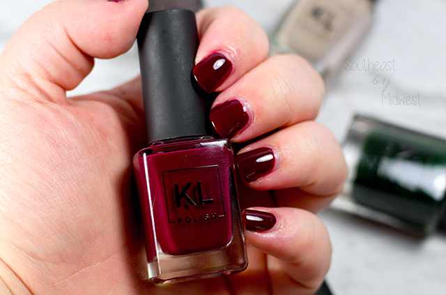 KL Polish Winter Glamourland Collection Review and Swatches Mindy || Southeast by Midwest #klpolished #klpolished #manimonday #beauty #bblogger #bbloggers #beautyguru