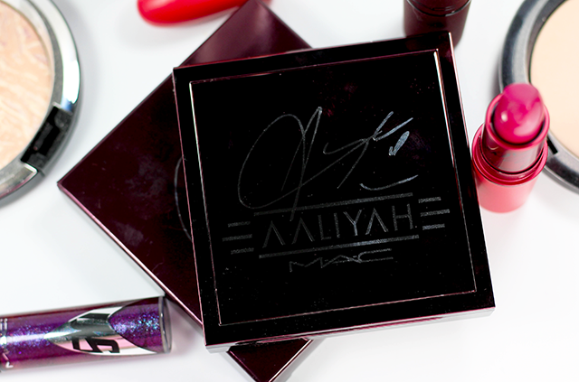 MAC Aaliyah Eye Shadow Palette Review and Swatches About MAC    Southeast by Midwest #AaliyahforMac #maccosmetics #beauty #bbloggers #bblogger
