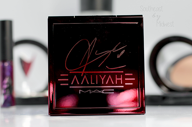 MAC Aaliyah Eye Shadow Palette Review and Swatches About || Southeast by Midwest #AaliyahforMac #maccosmetics #beauty #bbloggers #bblogger