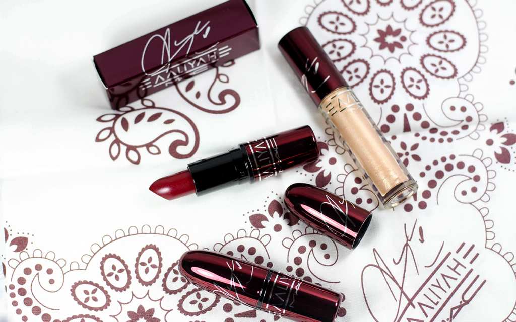 MAC Aaliyah Lipsticks and Lipglass Review and Swatches
