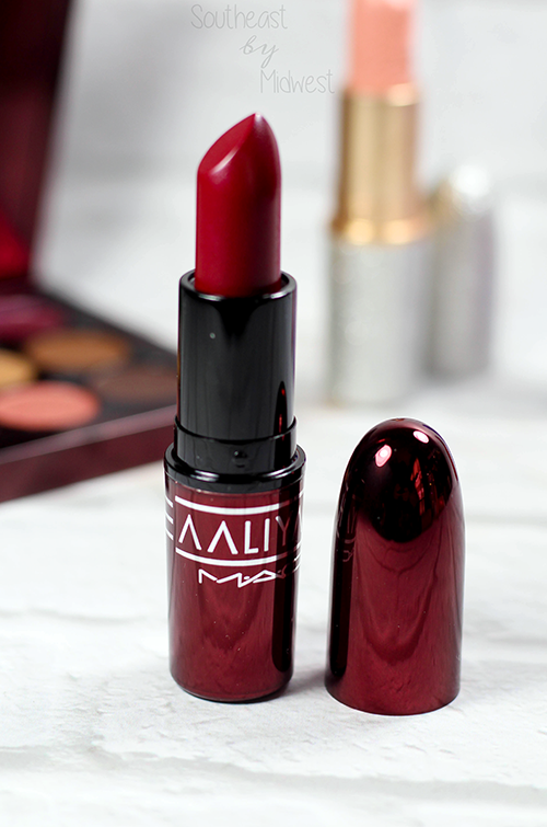 MAC Aaliyah Lipsticks and Lipglass Review and Swatches More Than a Woman || Southeast by Midwest #AaliyahforMac #maccosmetics #beauty #bbloggers #bblogger